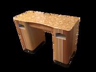 PC Straight Nail Table V11-820-282 Gel Legs
