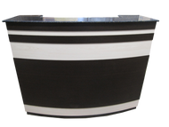 Custom Reception Desk V14 - 2002-1946 Gold Black