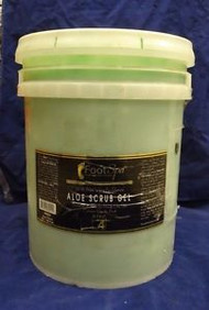 Foot Spa - Aloe Vera Scrub Gel - 5 Gal Bucket