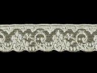 "Off White Edge Lace Trim - Cotton - 2.5"" (WT0212E04)"