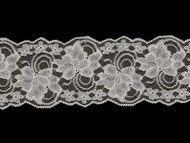"White Galloon Lace Trim - Stiff - 4"" (WT0400G03)"