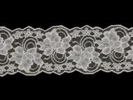 "White Galloon Lace Trim - Stiff - 4"" (WT0400G03)"