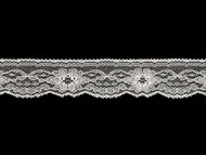 "White Edge Lace Trim - 1.375"" (WT0138E08)"