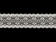"White Galloon Lace Trim - Beading - 1.625"" (WT0158G04)"