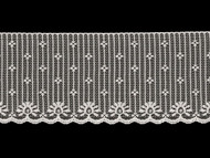 "White Edge Lace Trim - 4.125"" (WT0418E03)"