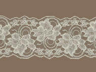 "Ivory Galloon Lace Trim - Stiff - 4"" (IV0400G03)"