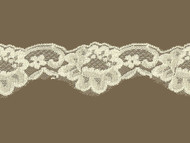 Ivory Scalloped Lace Trim - 2.25'' (IV0214S02)