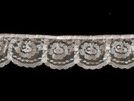 White Edge Lace Ruffled - 2'' (WT0200U01)