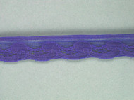 """Violet Blue Edge Lace Trim - 0.625"""" (VB0058E01)"""