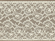 "Ivory Galloon Lace Trim - 7.75"" (IV0734G01)"