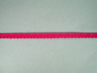 "Fuchsia Edge Lace Trim - 0.375"" (FS0038E01)"