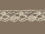 "Ivory Edge Lace Beaded Trim - 2.5"" (IV0212U01)"