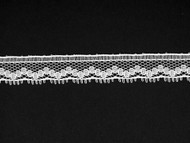 "White Edge Lace Trim - 0.375"" (WT0038E05)"