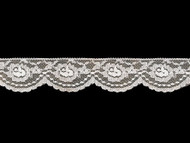 White Edge Lace Trim - 2'' (WT0200E11)