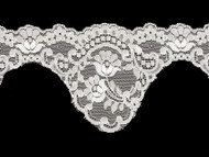 White Scalloped Lace Trim - 4.25'' (WT0414S01)