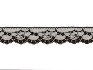 "Black Edge Lace Trim - 2"" - (BK0200E02)"
