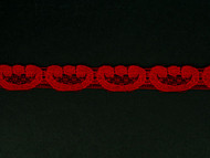 "Red Edge Lace Trim - 0.5"" (RD0012E01)"