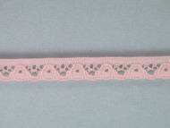 "Pink Edge Lace Trim - 0.375"" (PK0038E02)"