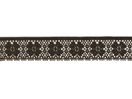 "Black Edge Lace Trim - 1.375"" - (BK0138E04)"