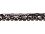 "Black Edge Lace Trim - 1.5"" - (BK0112E03)"