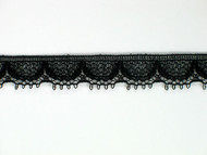 "Black Edge Lace Trim - 0.375"" (BK0038E02)"