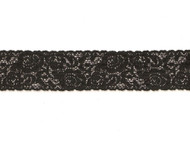 "Black Galloon Stretch Lace - 1.5"" (BK0112G01)"
