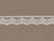 "Ivory  Edge lace - 1.25"" (IV0114E05)"