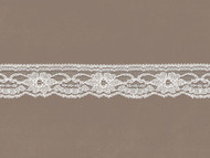 "Ivory Edge Lace w/ Sheen - 1.25"" (IV0114E06)"
