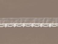 """Ivory Ribbon/Venice Lace -1.25"""" (IV0114U01)"""