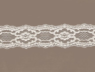 "Ivory Galloon Re-embroidered Lace -2 .25"" (IV0214G04)"