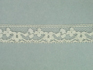 "Ivory Edge Lace Trim - 0.625"" (IV0058E02)"