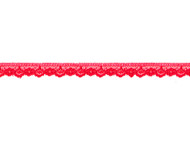 "Bright Red Edge Lace with Sheen - .5"" (RD0012E04)"
