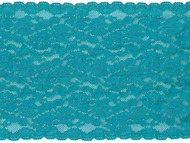 "Teal Galloon Stretch Lace - 7"" (TL0700G01)"