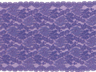 "Purple Galloon Stretch Lace - 7"" - (PR0700G01)"