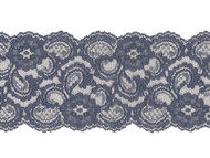 "Navy Blue Galloon Lace with Sheen -4"" - (NB0400G01)"