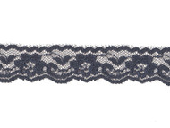 "Navy Blue Edge Lace - 1"" - (NB0100E01)"