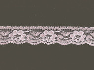 "Light Pink Edge Lace with Sheen - 1"" - (PK0100E01)"