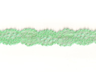 "Dark Mint Stretch Galloon Lace - 1.25"" - (MT0114G01)"