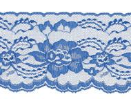 "Royal Blue Edge Lace Stiff - 4""- (RB0400E01)"