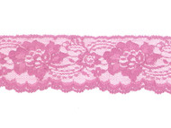 "Bright Mauve Edge Lace with Sheen - 2.50"" - (MV0212E02)"