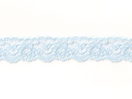"Light Blue Edge Lace with Sheen- 1"" - (LB0100E01)"