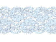 "Light Blue Galloon Lace w/ Sheen - 4"" - (LB0400G01)"