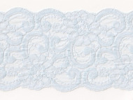 "Light Blue Galloon Lace with Sheen -5"" - (LB0500G01)"