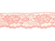 "Peach Edge Lace with Sheen - 2.5"" - (PE0212E03)"