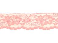 """Peach Edge Lace with Sheen - 2.5"""" - (PE0212E03)"""