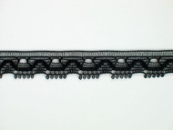 "Black Edge Lace Trim - 0.375"" (BK0038E04)"