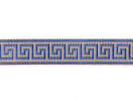 "Gold Blue Edge Trim - Metallic - Soft - 1"" (GB0100E50)"