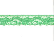"Emerald Green Edge Lace - Stiff - 2"" (GR0200E50)"
