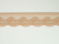 "Bisque Edge Lace Trim - 0.75"" (BQ0034E01)"