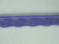 "Periwinkle Blue Edge Lace Trim - 0.625"" (PW0058E01)"